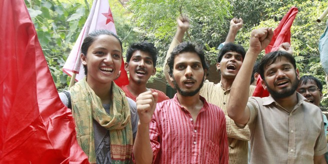 ABVP Makes Comeback In JNU Elections 2015